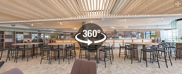 12-Micron Barangaroo 360° Panoramas - Bar and Lounge Area