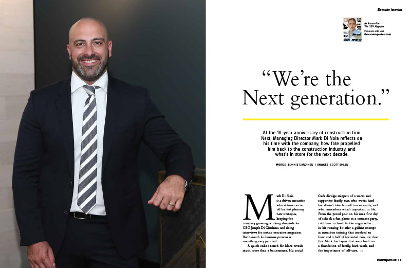 CEO Magazine interview with Next Managing Director