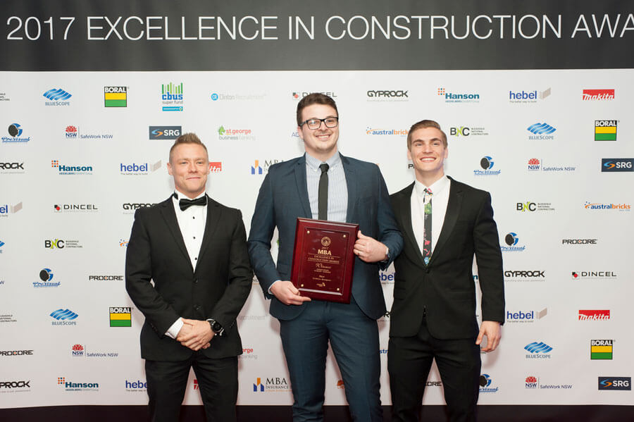 Next wins MBA Excellence in Construction Award