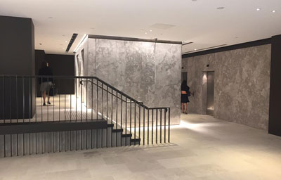 Lobby upgrade, 33 York Street, Sydney